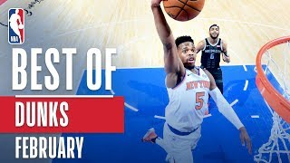 NBA's Best Dunks | February 2018-19 NBA Season