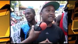 VIDEO: Haiti - Manifestation pou RETOUNEN Laurent Lamothe nan List Electoral la
