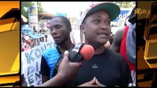 VIDEO: Haiti - Manifestation pou RETOUNEN Laurent Lamothe nan List Electoral la