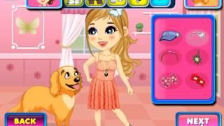 Dora and her dog - Dora Games - Mary