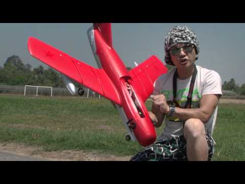 MIG-15 RC Fighter Jet EDF FLIGHT REVIEW in HD!