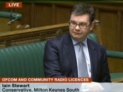 Community Radio Licensing Debate in Parliament