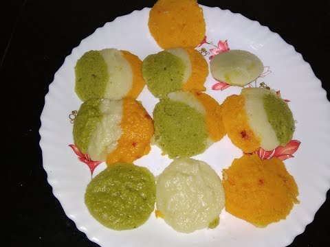 Tricolor Idli Recipe | Independence Day special Recipe | Idli Recipe