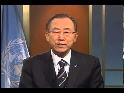 Ban Ki-moon message to the London Summit on nutrition - Growth Green Agriculture, GG Agriculture