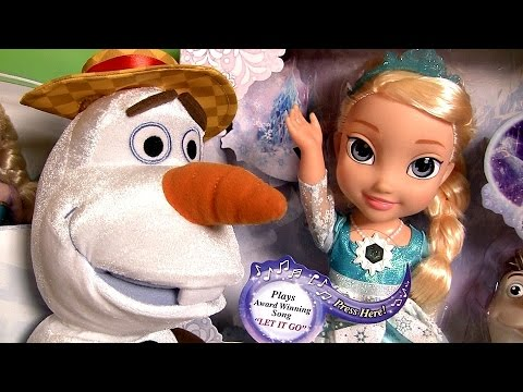NEW Disney FROZEN Toys Snow Glow Elsa ❤ Musical Magical Set ❤ Royal Sisters ❤ Sing Swing Olaf