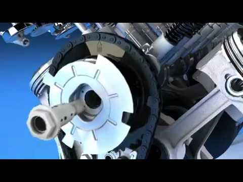 2014 Corvette C7 LT1 Engine Variable Valve Timing Animation