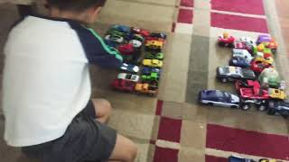 KIDS PLAYING WITH TOY CARS! BABY CAR REVIEW