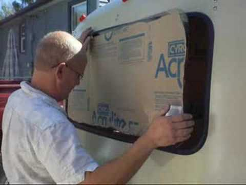 Boler trailer Window Installation Part ONE