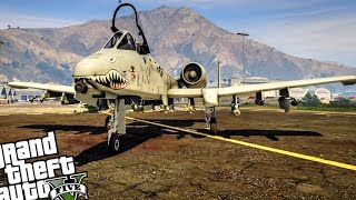 GTA 5 - EPIC A-10A Thunderbolt II MOD