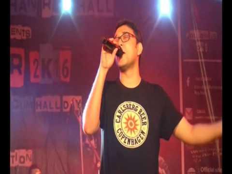 Anupam Roy live @ ELIXIR 2k16 Part-4