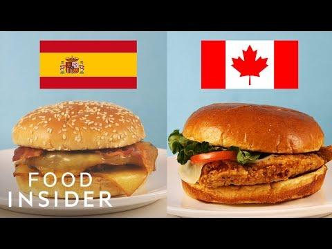 McDonald's New International Menu Taste Test