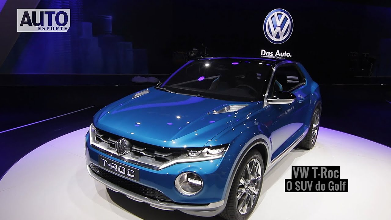 conhe a o volkswagen t roc o suv do golf youtube. Black Bedroom Furniture Sets. Home Design Ideas