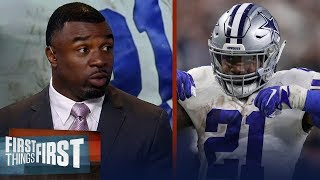 Brian Westbrook doubts the Cowboys can win NFC East without Zeke | NFL | FIRST THINGS FIRST
