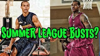"4 Summer League ""BUSTS"" Who Became NBA Stars (ft. Steph Curry & Lebron)"