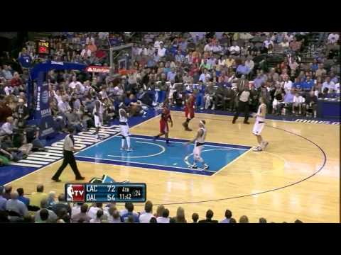 Randy Foye 28 points (hits 8 3 pointers) vs Dallas Mavericks complete Highlights 04.02.2012