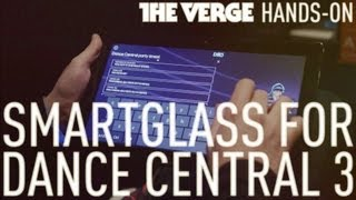 SmartGlass for Dance Central 3 hands-on