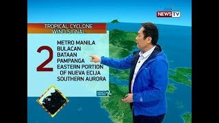 BT Weather update as of 1218 p.m. Dec. 2, 2019