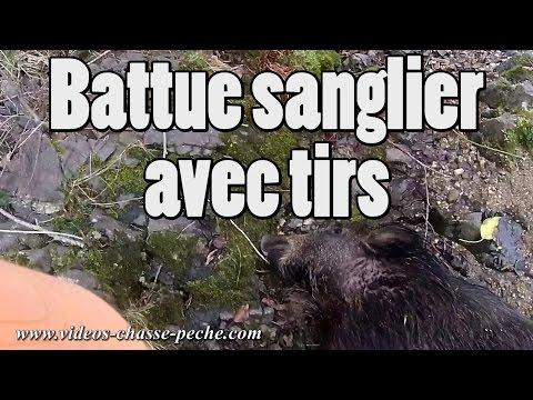 Battue Sanglier Avec Tirs - Drift HD Ghost S - video chasse au sanglier
