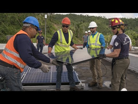 Can solar energy speed Puerto Rico's recovery? Here's what it would take