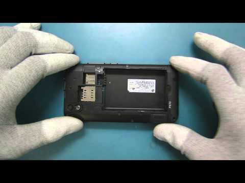 Tutorial de Desmontagem LG P970 Optimus - TELECELULA