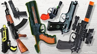 New Toy Guns Collection from China - My massive Weapon Toys Order for Christmas has Arrived