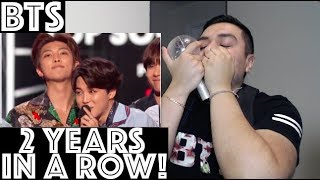 BTS WIN 2018 TOP SOCIAL ARTIST BILLBOARD MUSIC AWARD Reaction