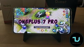 OnePlus 7 Pro MOBILE LEGENDS New Version after updates gaming/Ultra high graphics/Android 9 test