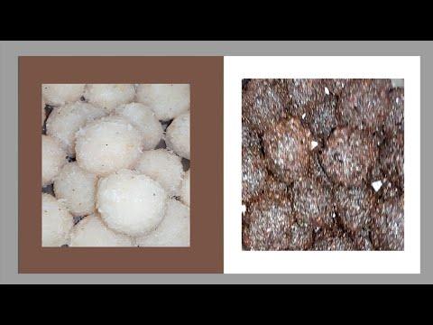 Coconut raskora/Coconut laddu/ కొబ్బరి లడ్డు/కొబ్బరి బెల్లం లడ్డు