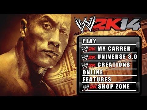 WWE 2K14 - Match Types + Reversal's + Pin System