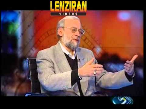 Mohamad Javad  Larijani brother of speaker Ali Larijani flatter Ayatollah Khamenei on TV