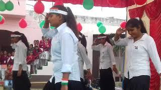 India wale dance school girls