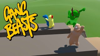 Teddy Bear Fights Back! - Gang Beasts Funny Moments