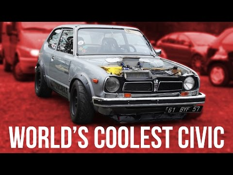 The World's Coolest Built-Not-Bought Honda Civic