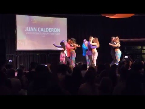 2016 Sydney International Bachata Festival - Juan Calderon's Fusion Collaboration Team