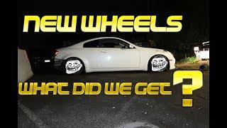 v35 gets new wheels