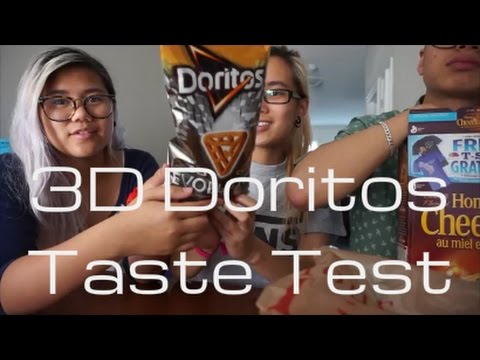 One Take: 3D Doritos Taste Test - hoiitsjoy