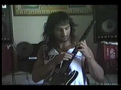 TJ Helmerich 1990 rehearsing for studio.