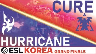 HOLDING ON BY A THREAD: Cure v. Hurricane (TvP) ESL Korea GRAND FINALS Professional StarCraft 2