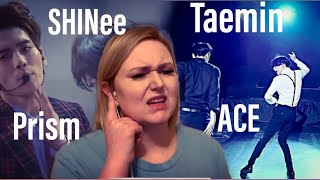 ZNCXII SHINee REACTION - SHINee - Prism SWC5 / Taemin - 'ACE' MV 😩🔥