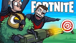 VANOSS LEARNS HOW TO PLAY FORTNITE! - Fortnite Battle Royale Funny Moments