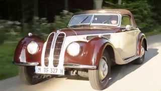 Clássico BMW 327 tem elegância e esportividade