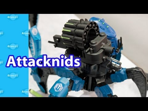 Attacknids R/C Battle Spiders London Toy Fair