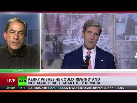 Word Apartheid: 'Why can't John Kerry stand behind his statement on Israel?'
