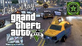 Let's Play - GTA V - Crazy Taxi Alternate Takes