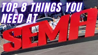 Top 8 things you NEED for SEMA 2019 !!