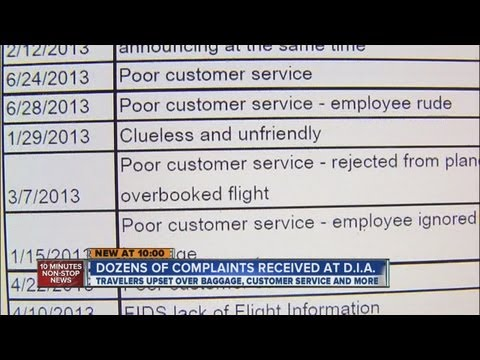 7NEWS reviews DIA passenger complaints
