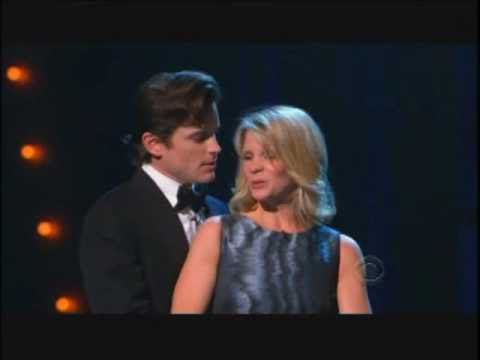 Matt Bomer & Kelli O'Hara singing
