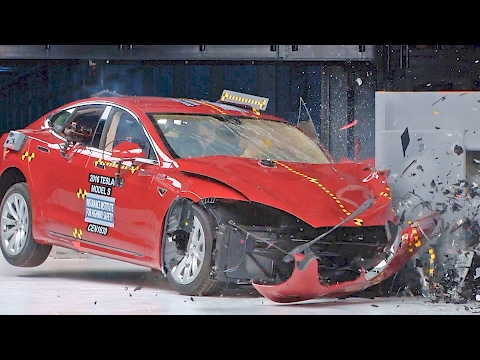 Tesla Model S (2017) Crash Tests