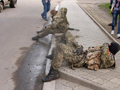 Боец самообороны Славянска: Нас зажали в кольцо... Прорвались с боем... Назад дороги нет!