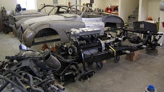 1953 Jaguar XK120 Drop Head Coupe Restoration Project